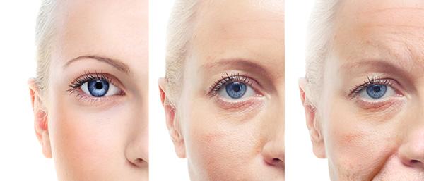 Les 3 stades du vieillissement du regard